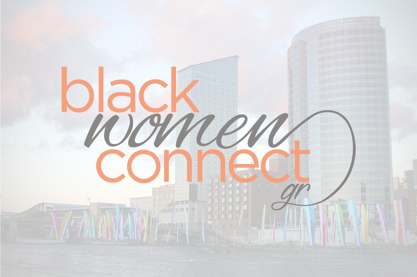 Black Women Connect Logo Design