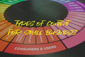 Types of Content for Small Business