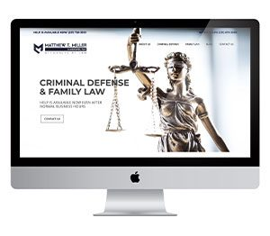 Muskegon Web Design Matthew T Miller Law