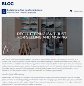 Tricia Carlson Blog