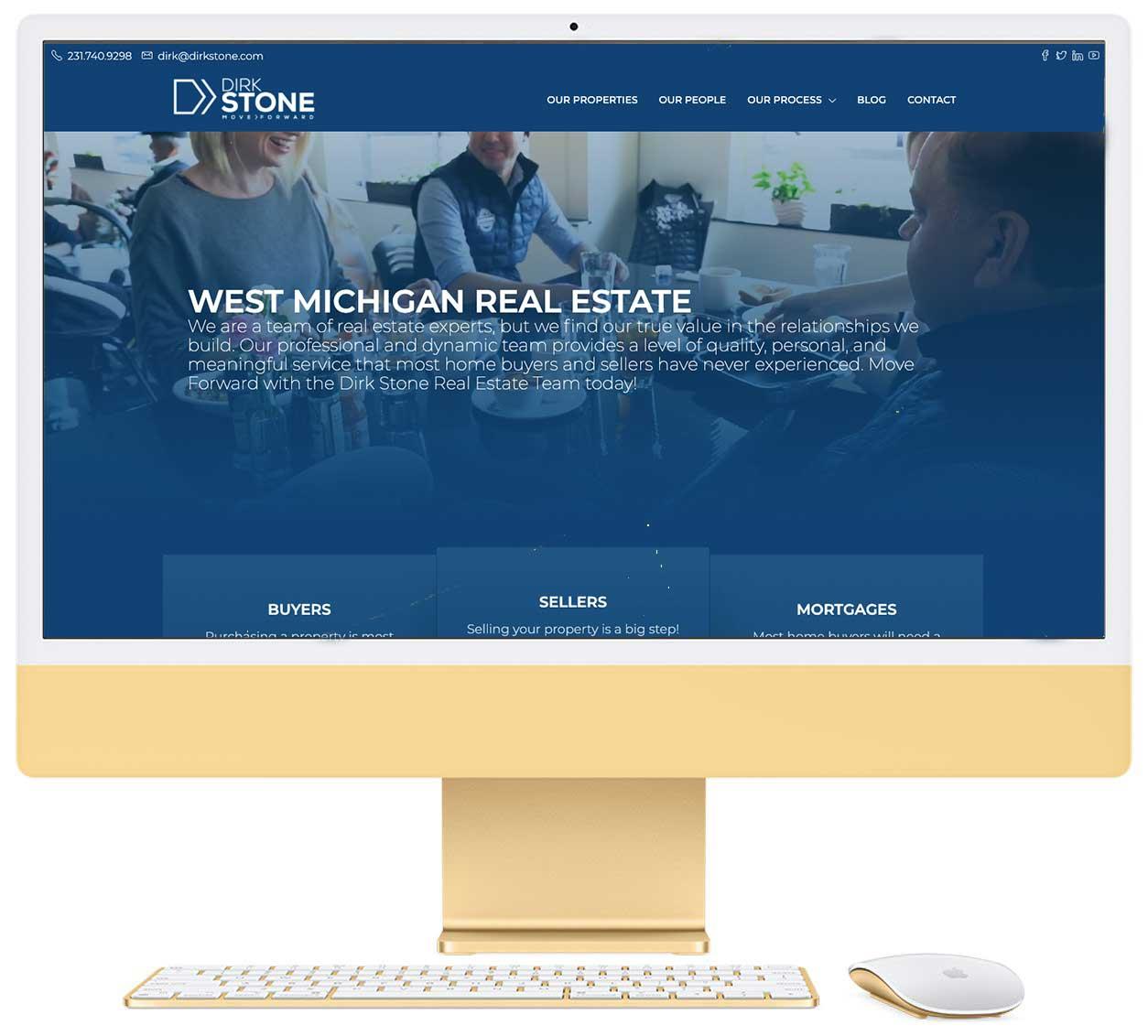 Dirk Stone Website