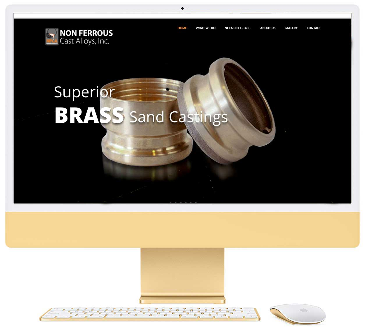 Non Ferrous Cast Alloys Website