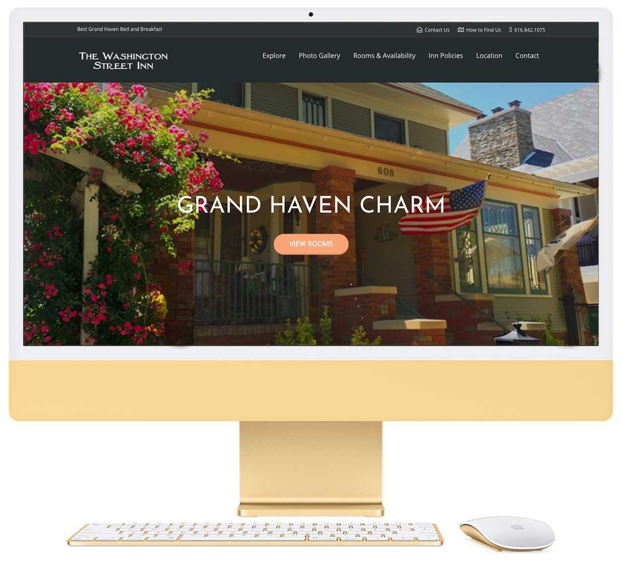 Washington Street Inn Website