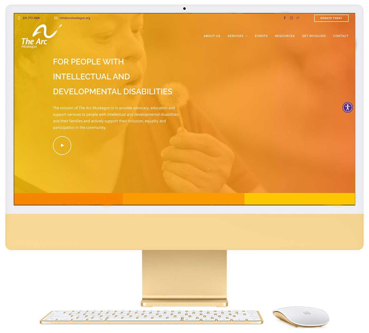 Arc Muskegon Website